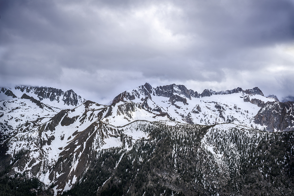 Storm over the Sawtooth Ridge