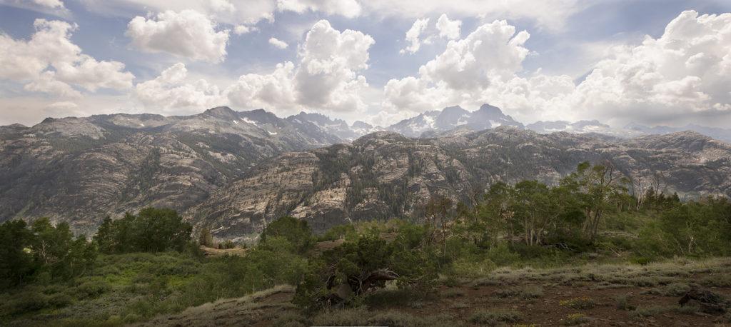 SN 300 Mount Ritter to Mount Lyell [pano]
