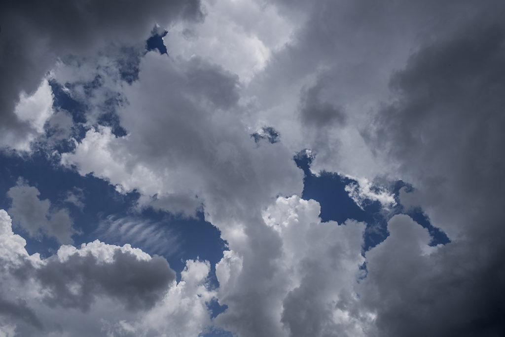 SN 306 Clouds over San Jaoquin Ridge