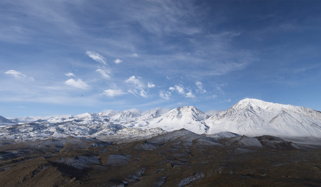 SN 308 Mount Humphreys from Tungsten Hills